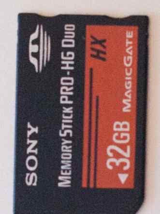 Memory stick pro 32 gb