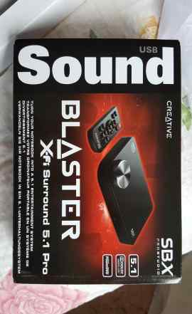 Звуковая карта Creative SB X-Fi Surround 5.1 Pro