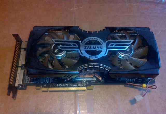 Evga GeForce GTX 275 896Mb на кулере Zalman VF3000