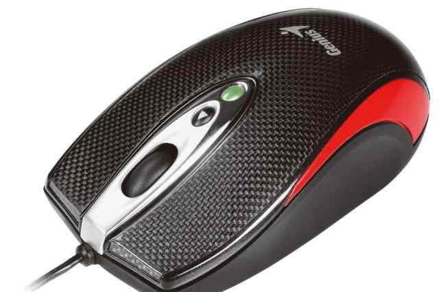 Мышь genius Navigator 335 laser красный USB