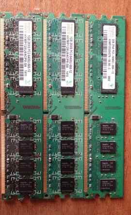 Hynix DDR2 PC2-6400 4Gb (2Gb + 2х1Gb)