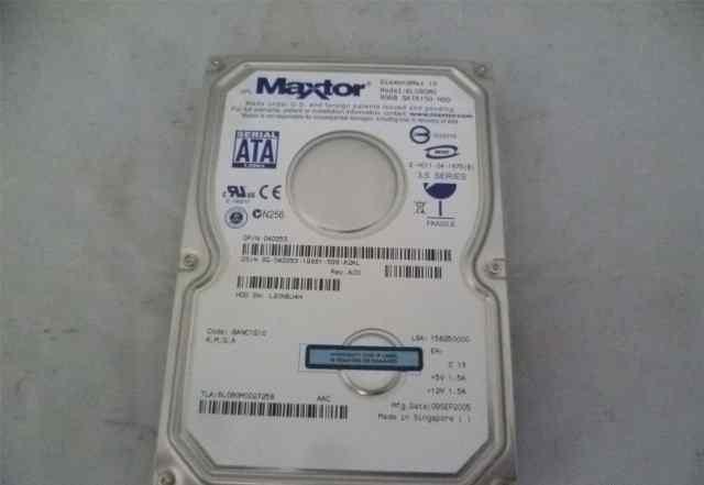 Жесткий диск Maxtor на 80 гб