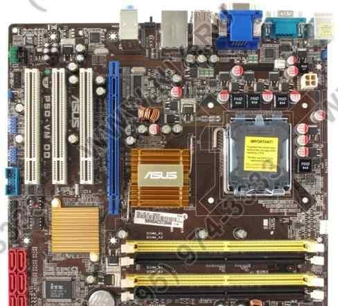 Asus P5Q-VM DO Socket 775