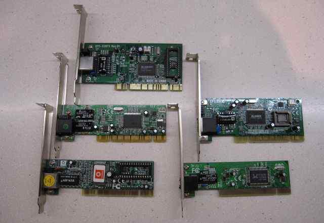 Сетевые карты PCI