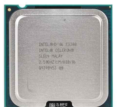 Процессор Intel 2 ядра 2.5 ггц Socket 775 E3300