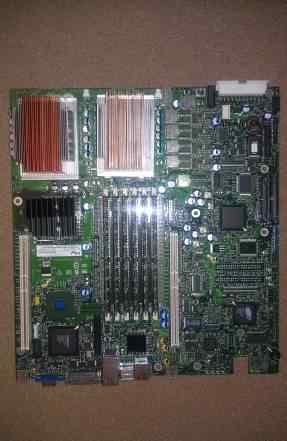 Серверная материнская плата + 2 CPU+ 3Gb RAM