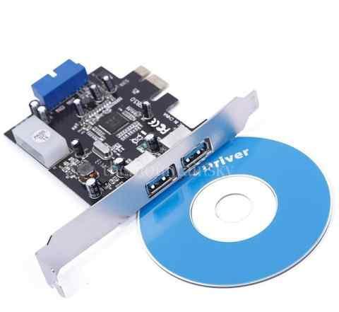 PCI-E Express To USB3.0 Card + 20pin Connector