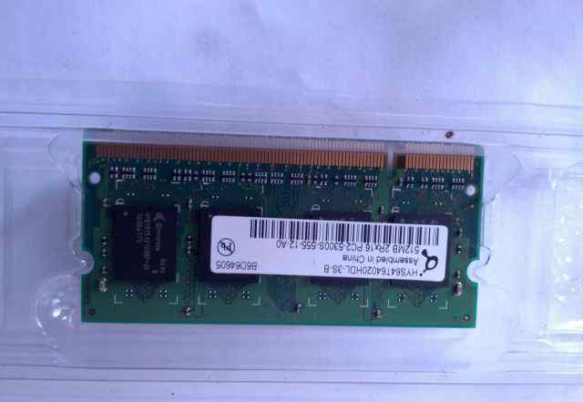 Sodimm DDR2 512 MB