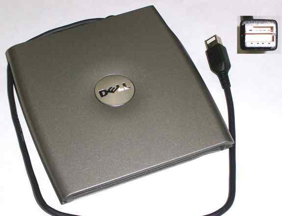 Внешний оптический привод DVD+ RW/CD+ RW Dell PD01