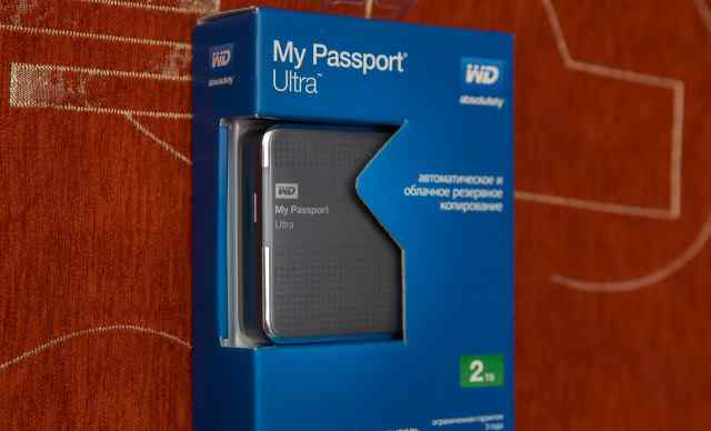 WD HDD 2 Tb My Passport 2 USB 3.0 (новый)