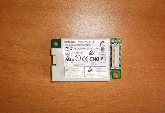 Модем Actiontec 56K dial UP modem card MD560LMI-2