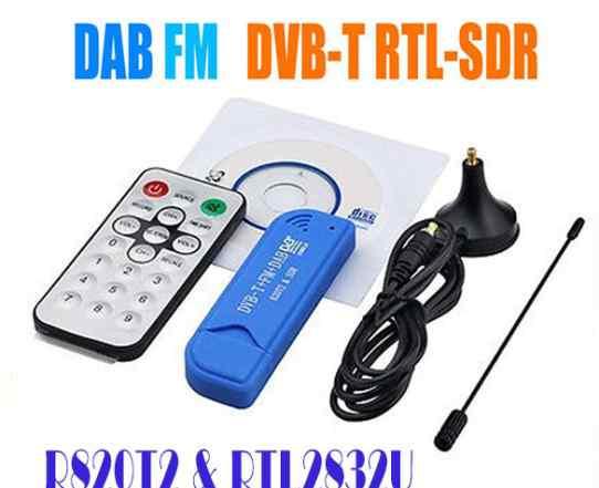 SDR тв-тюнер DVB-T R820T2 и RTL2832U
