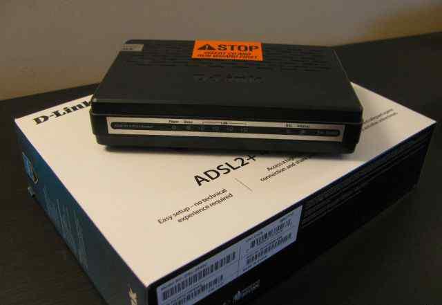 D-Link DSL-2540U новый