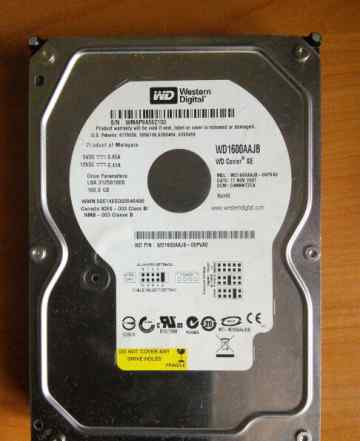 Western Digital IDE 160 Gb WD1600aajb