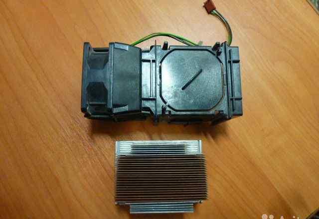 Кулер и радиатор для сервера 604