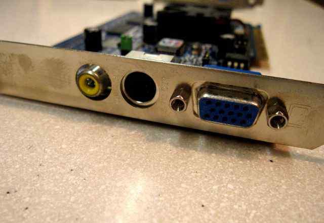 Две видеокарты AGP