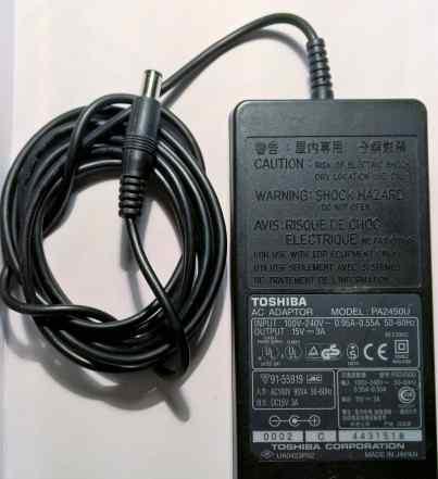 Сетевой адаптер Toshiba 15V 3A PA2450U (6.3x3.0)