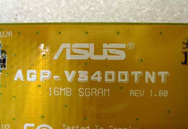 Asus AGP-V3400TNT vivo