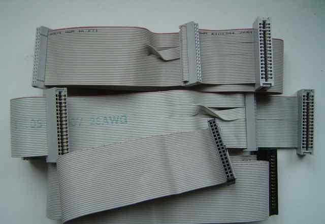 Шлейфы для 5 и 3.5 дюймовых дисководов 3 шт