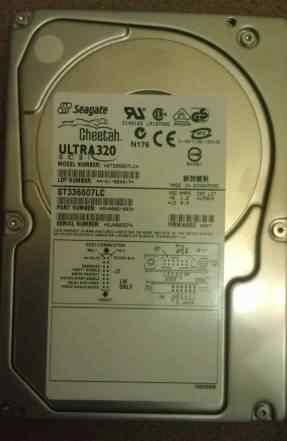 Жесткий диск 36.7Gb Seagate scsi 10K U320