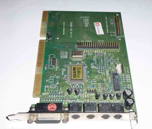 Звуковая Карта ISA Edison Gold 16 Plus