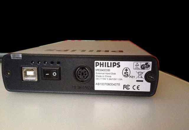 Philips spe3040cc/00 жесткий диск