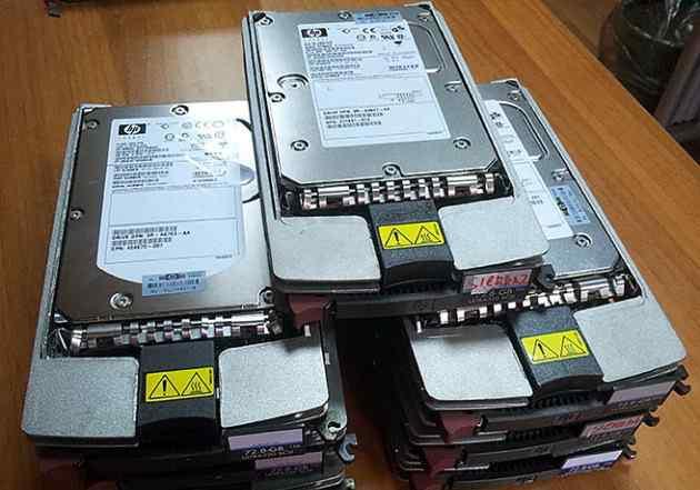HDD HP ultra320 scsi 18G 36G 72G 146G