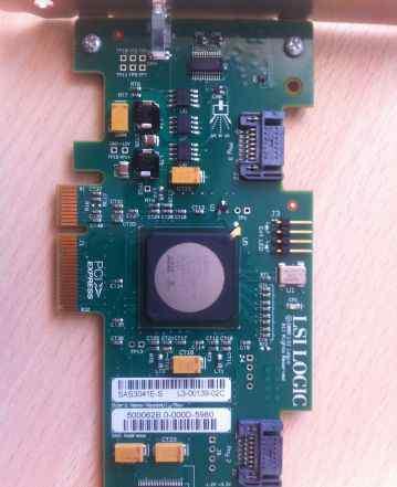 LSI SAS контроллер 4SFF/SATA