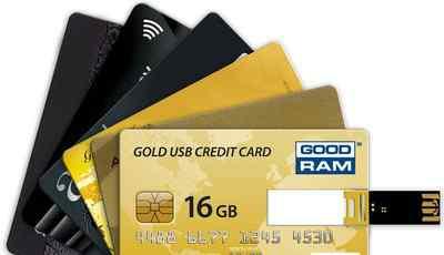 Флешка кредитка