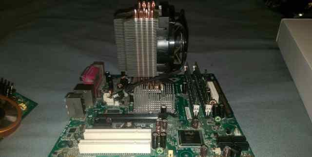 Материнская плата Intel D945gcnl, процессор, озу