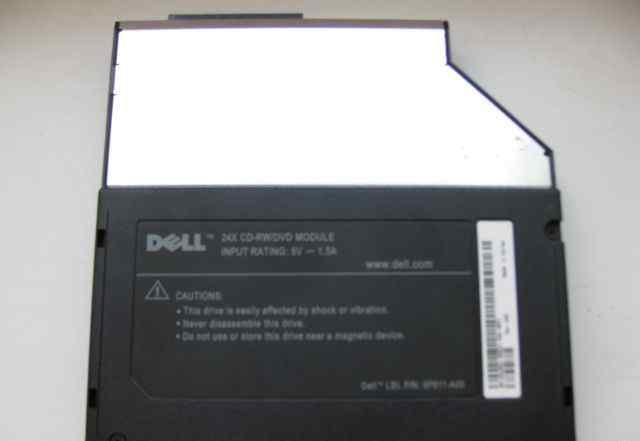 Новый DVD/CD-RW привод для ноутбука Dell C640