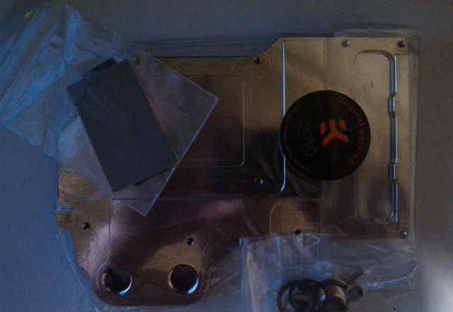 Комплектующие для водяного охлаждения компа