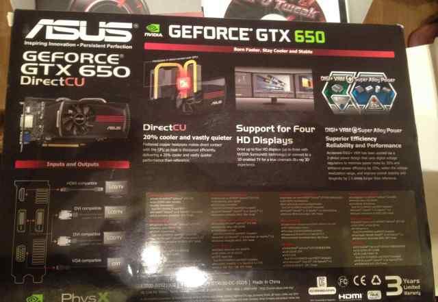 Видео карта gtx 650