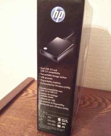 Новый в упаковке 1Tb Внешний жёсткий диск