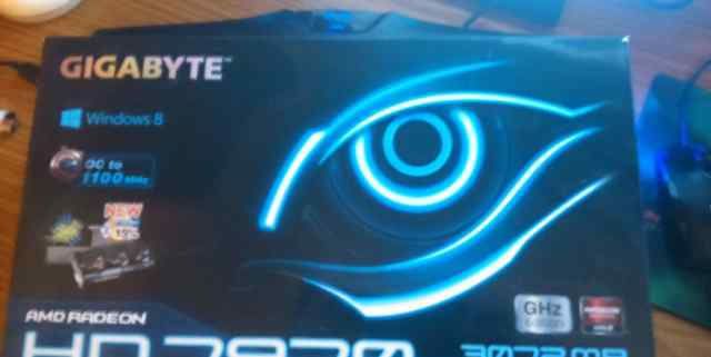 Видюшка Gigabyte hd 7970(GV-R797TO-3GD)