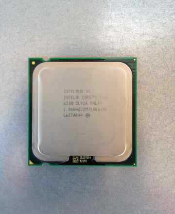 Процессор Intel Core 2 Duo 1.86GHz E6300