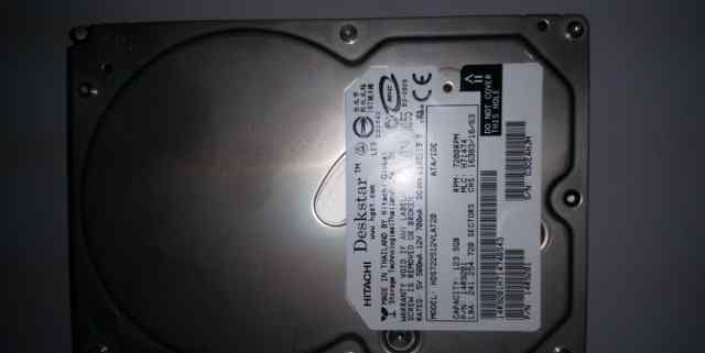 Жесткий диск 120 Gb IDE