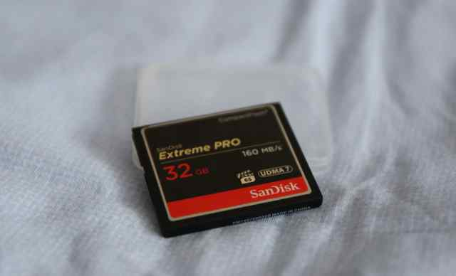 Карта памяти CF SanDisk Extreme Pro 32GB 160MB/s