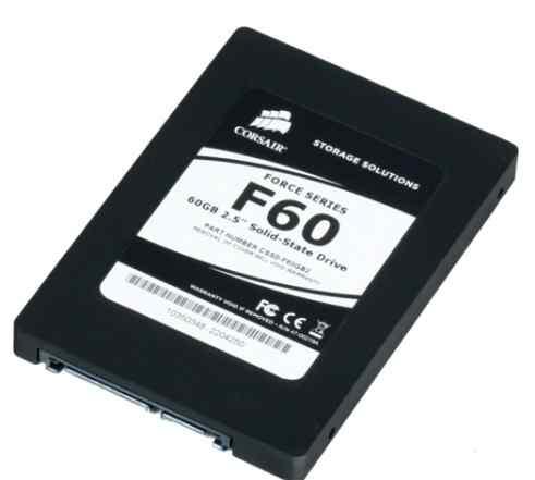 Жесткий диск SSD Corsair cssd-F60GB2-brkt