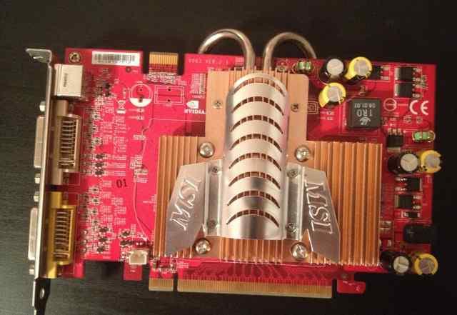 MSI GeForce 7600 GT 256Mb