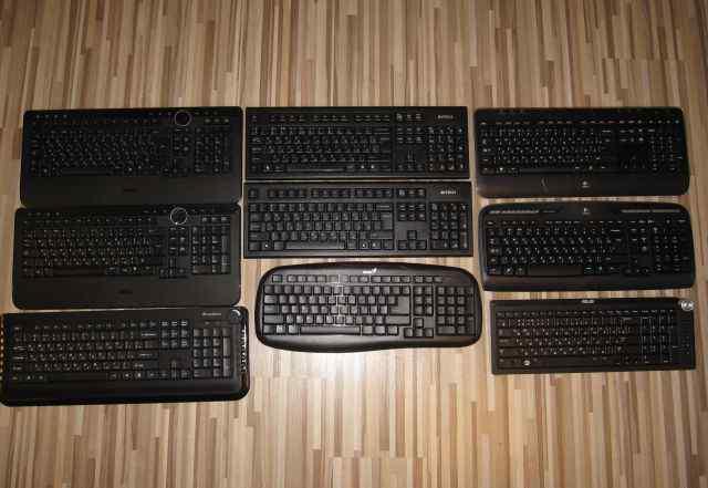 Беспроводные клавиатуры без передатчиков 5 штук