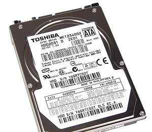 Жесткий Диск для ноутбка, Toshiba MK1234GSX 120Gb