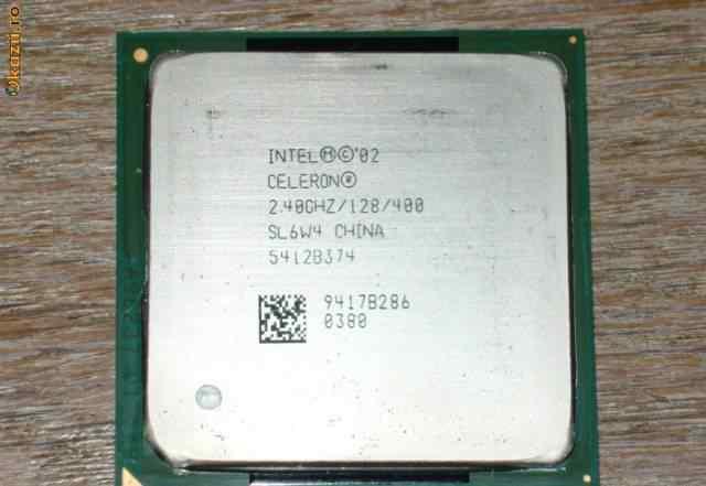 Intel Celeron 2.4 S478 гонится+ кулер