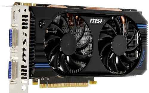 Видеокарта игровая MSI GeForce GTX 560 SE