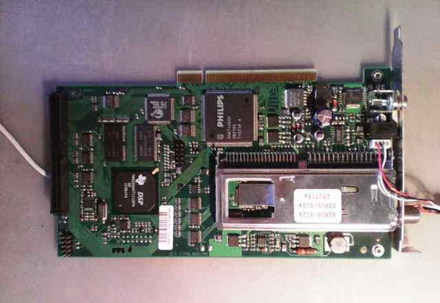 Компьютерная PCI плата SkyStar 1 ver. 1.5