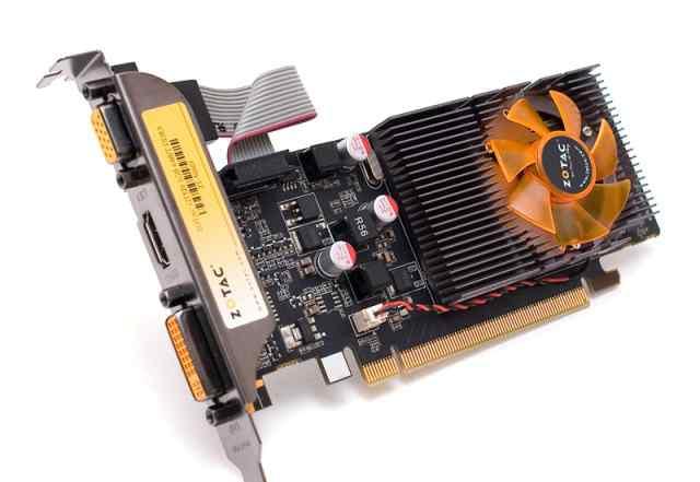 Видеокарта игровая Zotac gt-520 1gb