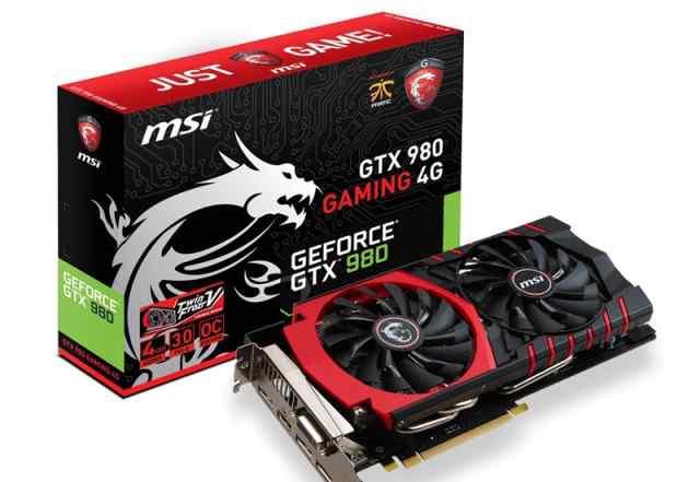 MSI GTX 980 4Gb
