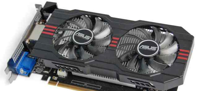 Asus GeForce GTX 650 Ti 2048Мб