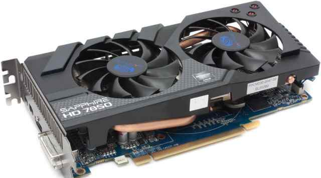 Видеокарта Sapphire Radeon HD 7850 OC Version 2Gb