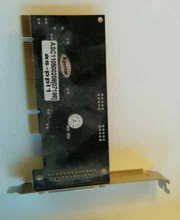 Контроллер LPT AgeStar AS-PPL1, в PCI